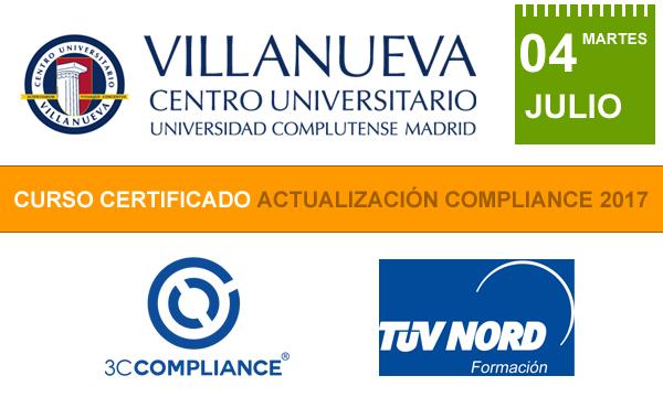 Curso Certificado Actualización Compliance 2017