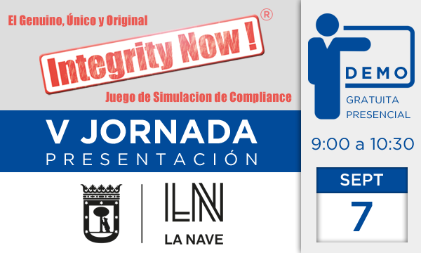 V Jornada Integrity Now!
