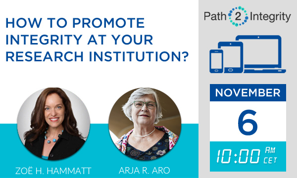 How to Promote Integrity at your Research Institution?