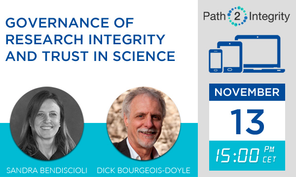 Governance of Research Integrity and Trust in Science