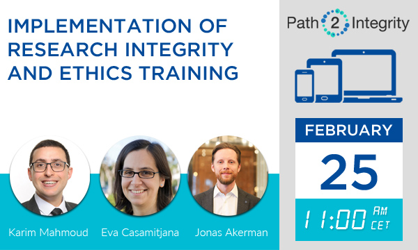 Implementation of Research Integrity and Ethics Training